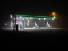 BP (Bahi P) Tags: bp hythe folkestone kent fog night petrolstation spar