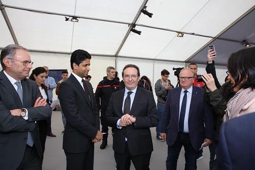 Inauguration de l'école ROUGE & BLEU à Mantes-la-Jolie