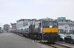 Irish Rail 082 on Wexford Quay. (Fred Dean Jnr) Tags: irishrail iarnrodeireann 071class generalmotors electromotivedivision 082 april2018 wexford belmondgrandhibernian