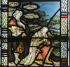 Clayworth, St Peter's church, window detail (Jules & Jenny) Tags: clayworth stpeterschurch stainedglasswindow kempe