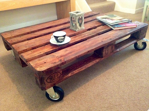 Wood Pallet Coffee Table for Sale