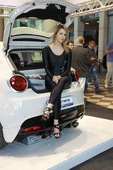 special car girl (themax2) Tags: 2012 rimini myspecialcar highheels leggings girl hostess