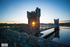 Vartry Co.Wicklow (Mick Hunt Photography) Tags: wicklow vartry reservoir sunset sunburst mickhuntphotography canon 5dmkiii 1635 longexposure leefilters ireland irelandsancientseast tower 1860 instagram