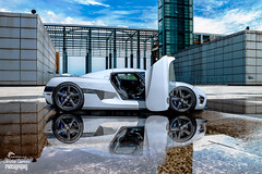 Koenigsegg Agera (christian_lawrence) Tags: keonigsegg agera reflection photoshop composition supercar car water sky