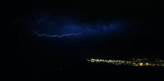 Gewitter über Linz (florian.glechner) Tags: gewitter unwetter wolken nacht blitz wetterleuchten linz langzeitbelichtung