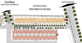 Cần bán gấp lô đất MT đường N1 Khu Dân Cư Lacasa, Phường Phú Thuận, Quận 7