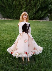 I Wonder... (ozthegreatandpowerful) Tags: sleeping beauty aurora briar rose limited edition designer doll mattel disney floral custom ooak store