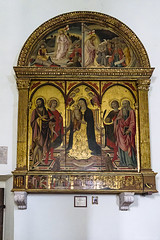 san Quirico d'Orcia (bonacherajf) Tags: italia italie valdorcia sanquiricodorcia toscane église tuscany village