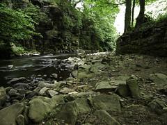 Long Exposure River Goyt (garethendsor7771) Tags: river goyt long exposure new mills water bridge pansonic g7 m43 lightroom adobe