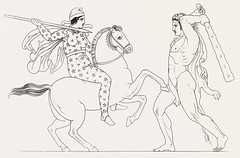 Hercules & Hippolita from An illustration of the Egyptian, G (Free Public Domain Illustrations by rawpixel) Tags: illustration publicdomain egyptian otherkeywords amazonianqueen anillustrationoftheegyptian ancient antique baxter belief cc0 drawing egypt empire gods grecianandromancostumes greek hercules herculeshippolita hippolita hippolyta historical history horse mythology myths old oldkingdom prehistorical riding romangods romans sketch thomasbaxter vintage war worship