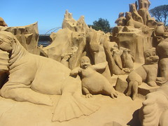 Under the Sea, Frankston Sand Sculptures, 2012 (d.kevan) Tags: underthesea sandsculptures frankston victoria 2012 seacreatures
