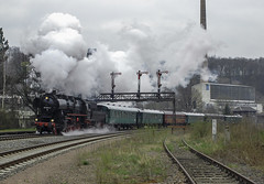 DR 52.8079 Roβwein 08/04/2007 (stefano.trionfini) Tags: train treni bahn zug dr br52 sassonia sachsen germania germany