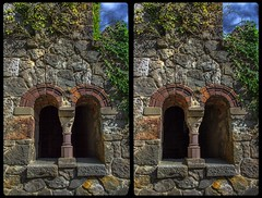 Enchanted castle 3-D / CrossEye / Stereoscopy / HDRaw (Stereotron) Tags: sachsenanhalt saxonyanhalt ostfalen harz mountains gebirge ostfalia hardt hart hercynia harzgau roseburg rieder castle schlos burg architecture historism belleepoque europe germany deutschland crosseye crossview xview pair freeview sidebyside sbs kreuzblick 3d 3dphoto 3dstereo 3rddimension spatial stereo stereo3d stereophoto stereophotography stereoscopic stereoscopy stereotron threedimensional stereoview stereophotomaker stereophotograph 3dpicture 3dimage twin canon eos 550d yongnuo radio transmitter remote control synchron kitlens 1855mm tonemapping hdr hdri raw