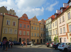 Old Town (Kaeko) Tags: old town warsaw poland city people street building