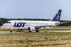 LOT Polish Airlines SP-LDE (U. Heinze) Tags: aircraft airlines airways flugzeug planespotting plane haj hannoverlangenhagenairporthaj nikon eddv