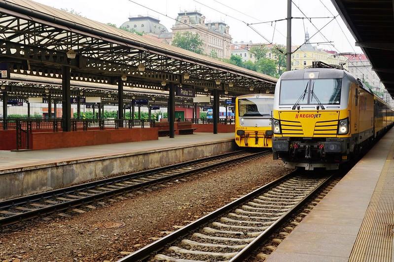 布拉格到維也納RegioJet火車