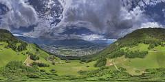 Liechtenstein mountainside 360 (Ningaloo.) Tags: 360 liechtenstein aerial switzerland mountainside mountain
