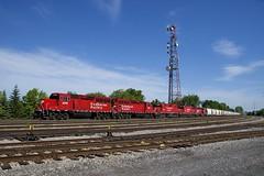 CP F94 (Michael Berry Railfan) Tags: cp canadianpacific cpf94 train freighttrain emd gmd gp20ceco gp382 lasalle montreal lasalleyard montrealsub quebec cp2280 cp2307 cp3024 cp4417 cp2205