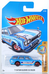 HOT-2017-277-Datsun (adrianz toyz) Tags: diecast toy model car hot wheels 2017 series datsun nissan 71 1971 wagon 510 estate station surfsup
