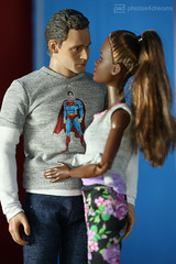 tom's new girl (photos4dreams) Tags: photos4dreams p4d photos4dreamz yoga barbie doll toy puppe madetomove dress mattel barbies girl play fashion fashionistas outfit kleider mode puppenstube tabletopphotography aa africanamerican darkskin 16 celebrity amanda phicen photos tomhiddleston hollowcrown schauspieler actor actionfigure toys thewarhorse