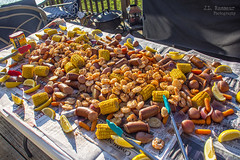 Birthday Shrimp Boil (J.L. Ramsaur Photography) Tags: jlrphotography nikond7200 nikon d7200 photography photo cookevilletn middletennessee putnamcounty tennessee 2018 engineerswithcameras cumberlandplateau photographyforgod thesouth southernphotography screamofthephotographer ibeauty jlramsaurphotography photograph pic cookevegas cookeville tennesseephotographer cookevilletennessee shrimpboil birthdayshrimpboil shrimp polishsausage sausage lemon potato cornonthecobb corn food dinner cookout feast eatin happybirthday tongs oldbayseasoning seasoning oldbay carrots onion birthdaydinner weliketoeat