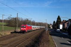 Velpe(Westf) (Nils Wieske) Tags: nordrheinwestfalen tecklenburger land formsignale baureihe 101 ic intercity db bahn eisenbahn zug züge train railway railroad