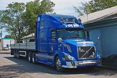 Volvo VNL  Т 583 ЕР 56 (RUS) (zauralec) Tags: автомобиль грузовик автопоезд город курган volvo vnl т 583 ер 56 rus kurgan areawagonrepaircompanyrmc3 депо