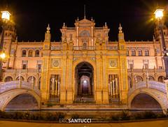 _6050515 (Eric Santucci) Tags: plazadeespaña sevilla andalusia spain españa plaza square olympus em10 andalucía es