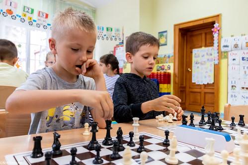 V Turniej Szachowy o Mistrzostwo Przedszkola Miejskiego Nr 1-9