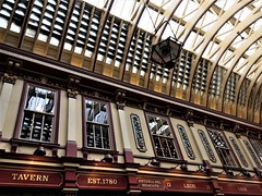 Leadenhall Market (photo by Valerie Schreiner)