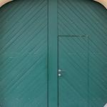 Tor mit Tür / Gate with door thumbnail