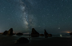 Bandon Oregon6-2018-12 (Ranbo (Randy Baumhover)) Tags: bandon oregon oregoncoast pacificocean stars milkyway sunset