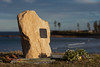 Memorial nr Sandon Point (Mikey Down Under) Tags: beach beaches blackallstreet bulli illawarra isaacryan memorial northern nsw point rock sandon sandstone southcoast wollongong