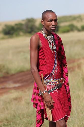 Maasai Mancha with cudgel
