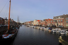 Voorhaven (YY) Tags: delfshaven rotterdam canal voorhaven boat netherlands southholland