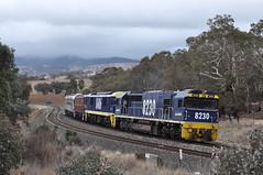 U-Boats trailing (highplains68) Tags: aus australia nsw newsouthwales rail railroad railway mainwest westernline 8606 4615 cf5003 cf5021