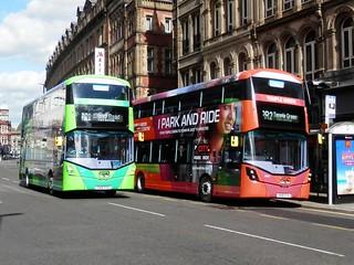First Bus Leeds  35308 & 35304 / SN18 XYE & SN18 XYA.