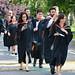Graduates procession