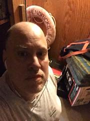 #notanidealfriday (knoopie) Tags: 2018 june iphone picturemail doug knoop knoopie me selfportrait storageroom hendricks notanidealfriday