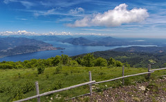 Lago Maggiore (Fil.ippo) Tags: lagomaggiore verbano lakemaggiore italy northern nord acqua water landscape alps alpi montagne mountains sky clouds filippo filippobianchi d610 nikon mottarone stresa
