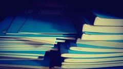 Blue books (BarbaraBonanno BNNRRB) Tags: book books bluebooks blue barbarabonanno bonannobarbara bnnrrb bybarbarabonanno photo foto prismadecolores