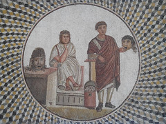 Mosaic Friends (marco_albcs) Tags: tunisia tunisie sousse archaeological museum mosaic