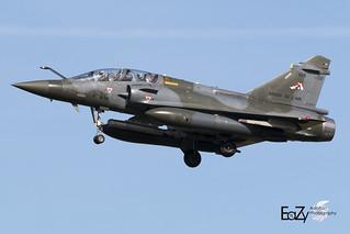 668 France Air Force (Armée de l'air) Dassault Mirage 2000D