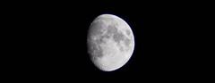 The moon and I (evakongshavn) Tags: moon lunar luna themoon moonscape sky skyscape blancoynegro blacknwhite blackandwhite blackwhite bnwphoto bnw bw svarthvit biancoenero skyline chainedtothesky