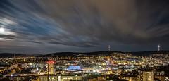 Stuttgart Panorama #2 (muman71) Tags: dscf2964 fuji fujinon18mm stuttgart nightwalk 2018 240sec f13 18mm langzeitbelichtung
