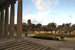 Golden Gate Park (shaanmemon) Tags: shaanmemon architecture column noperson travel tower temple building sky city outdoors ancient old monument bedrock religion stone tourism daylight museum tree musicconcourse concourse deyoungmuseum sanfrancisco oldmonument