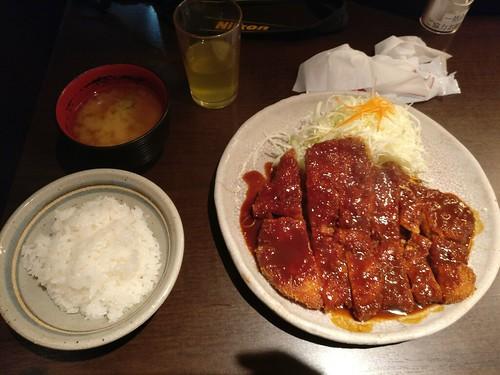 Misokatsu di Nagoya