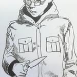 """dessin de manga Nantes travail de la plume <a style=""""margin-left:10px; font-size:0.8em;"""" href=""""http://www.flickr.com/photos/122771498@N03/26422409207/"""" target=""""_blank"""">@flickr</a>"""