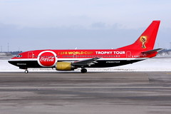 Titan G-POWC, OSL ENGM Gardermoen (Inger Bjørndal Foss) Tags: gpowc titan boeing 737 cocacola fifa worldcup osl engm gardermoen