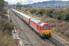 67028 at Bathampton (Glen Batten) Tags: belmondbritishpullman bath somerset 67028 railbathampton